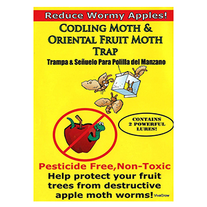 Codling Moth & Oriental Fruit Moth Trap - 2 Traps/Lures