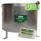 ARBICO Organics™ Solar Fly Trap - 1 Trap & 1 FREE Bait