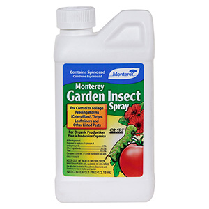 Monterey Garden Insect Spray For Control Of Caterpillars