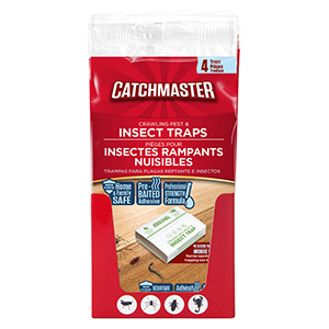 Catchmaster® Crawling Pest & Insect Traps - 4 pk
