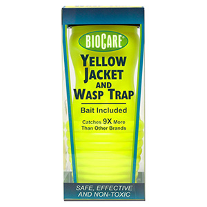 BioCare Yellow Jacket & Wasp Trap Slim - Yellow Jacket & Wasp Lure - 2 pk