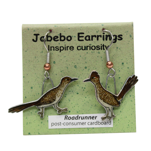Roadrunner Jabebo Earrings
