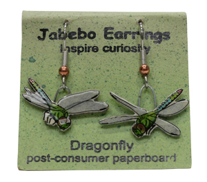 Dragonfly Jabebo Earrings