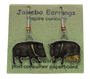 Javelina Jabebo Earrings