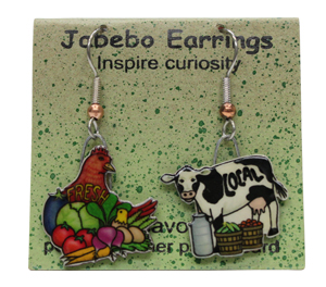 Locavore Jabebo Earrings