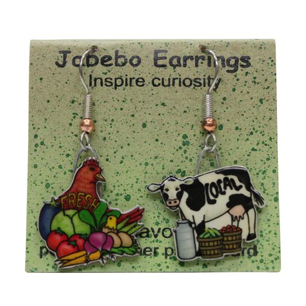 Locavore Jabebo Earrings