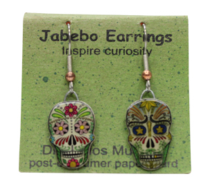 Dia de los Muertos Jabebo Earrings
