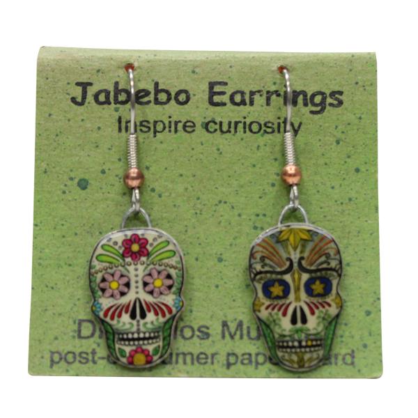 Dia de los Muertos Jabebo Earrings