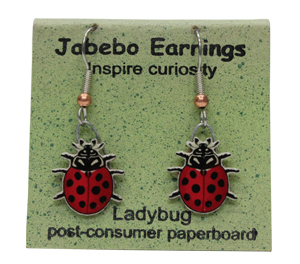 Ladybug Jabebo Earrings