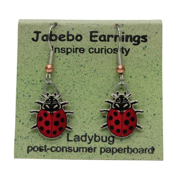 Ladybug Jabebo Earrings