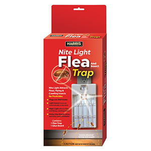 Harris Plug-In Flea & Insect Trap w/night light