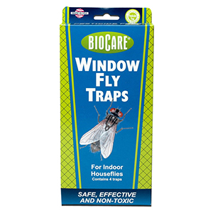 BioCare® Window Fly Trap - 1 pk of 4 traps