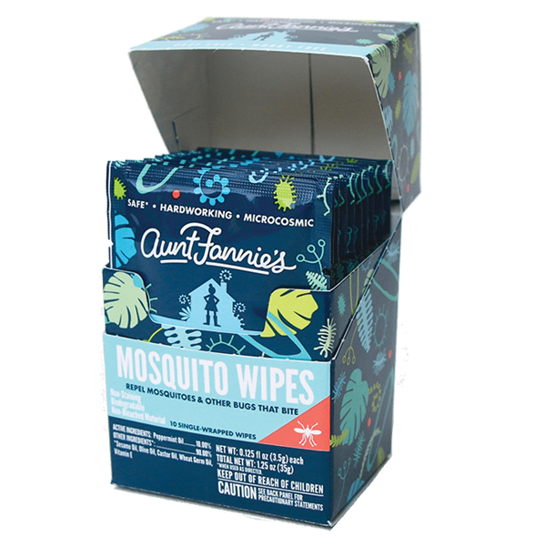 Aunt Fannie's Mosquito Wipes
