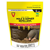 Victor® Dual Action Mole & Gopher Repellent - 4 lbs.