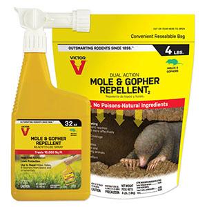 Victor® Mole & Gopher Repellent