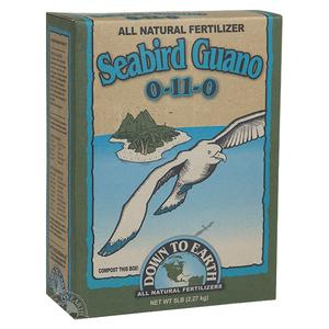 DTE™ Seabird Guano 0-11-0 - 5 lb box