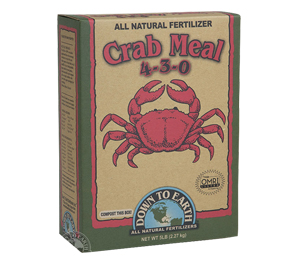 DTE™ Crab Meal 4-3-0 - 5 lb box