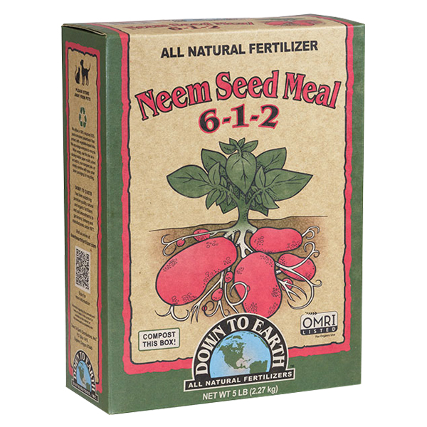 DTE™ Neem Seed Meal, 6-1-2