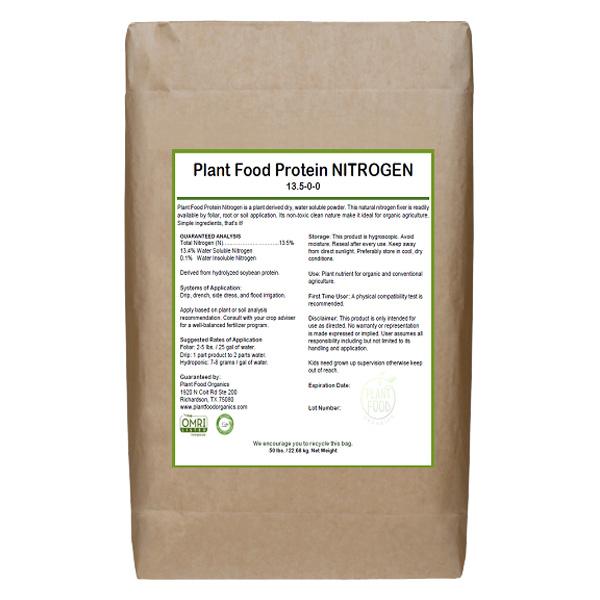 Plant Food Nitrogen, 13.5-0-0