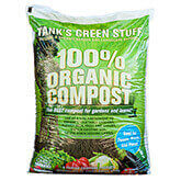 Tank's 100% Organic Compost - 1 Cubic Foot