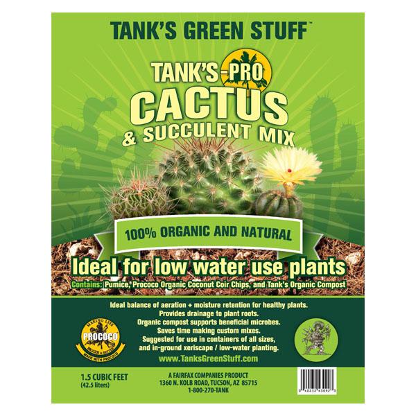 Tank's-Pro Cactus & Succulent Mix - 1.5 cu ft