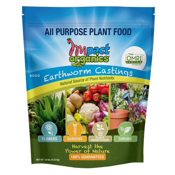 Impact Organics Earthworm Castings
