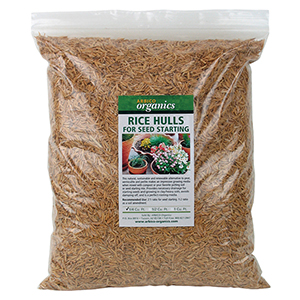ARBICO Organics® Rice Hulls
