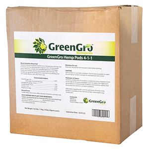GreenGro™ Hemp Pods 4-1-1