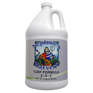 Neptune's Harvest Turf Formula Fertilizer, 2-0-2