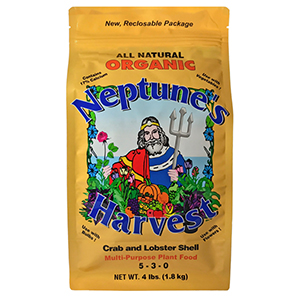 Neptune's Harvest Crab & Lobster Shell, 5-3-0 - 4 lb bag