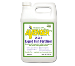Avenger 2 3 1 liquid fish fertilizer ready to spray for Liquid fish fertilizer