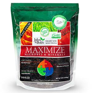 John & Bob's Maximize - Microbes and Minerals - 8 lbs