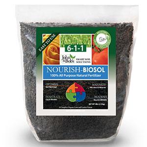 John & Bob's Nourish - BIOSOL, 6-1-1 - 6 lbs