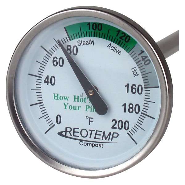 REOTEMP® Compost Thermometer 20""