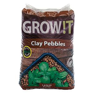 Grow !T® Clay Pebbles - 40 L, 1.4 Cubic Feet
