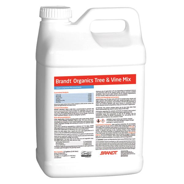 Brandt® Organics Tree & Vine Mix