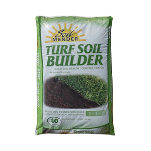 Soil Mender® Turf Soil Builder, 1-1-1 - 40 lb bag