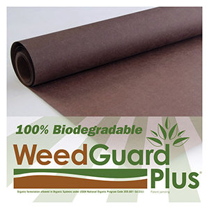 WeedGuard Plus® Organic - Standard Weight Rolls