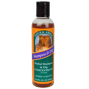 Natural Animal® Herbal Shampoo and Dip Concentrate Dogs