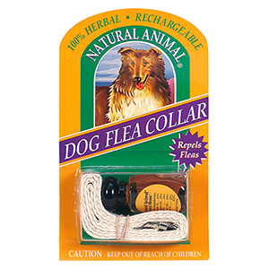 Natural Animal® Rechargeable Herbal Collar - Dog
