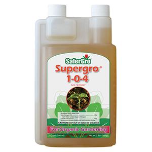 SaferGro® SuperGro 1-0-4