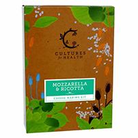 Cultures for Health Mozzarella & Ricotta Cheese Kit