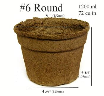 CowPots™ - #6 Round