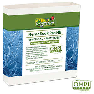NemaSeek Pro™ Hb Beneficial Nematodes - 10 Million