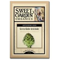 Sweet Garden Organics Seeds - Green Globe Artichoke