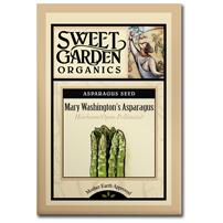 Sweet Garden Organics Seeds - Mary Washington's Asparagus