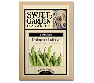 Sweet Garden Organics Seeds - Tendergreen Bush Beans