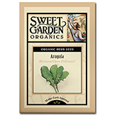 Sweet Garden Organics Seeds - Arugula