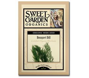 Sweet Garden Organics Seeds - Bouquet Dill