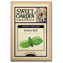 Sweet Garden Organics Seeds - Genovese Basil